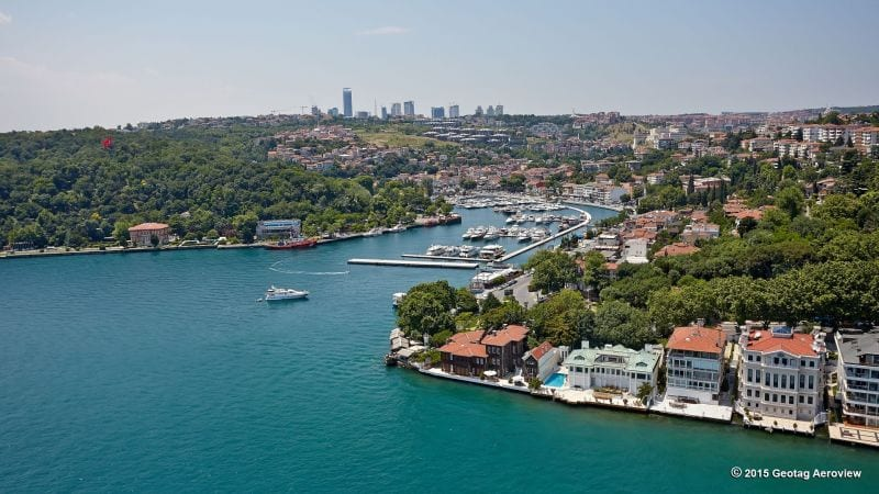 The most beautiful areas of Istanbul overlooking the Bosphorus 1 Istanbul